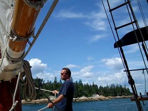 Aboard the Schooner Stephen Taber